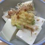 葛西橋 - 冷奴(150円)