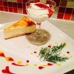 ワインバルRough - Roughのとろけるチーズケーキ