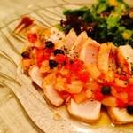 ワインバルRough - メカジキのステーキ