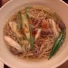 蕎麦BAR 齋 - 料理写真:鴨南そば