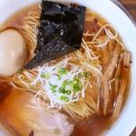 Tombo - 料理写真:味玉醤油の旨味ソバ