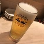 まぐろ一代 - まずは生ビール