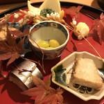 Tagetsu - 季節を感じる前菜の盛り合わせ