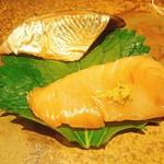 鮓 きずな - 鰆漬け&秋刀魚