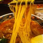 94879279 - 麺は、ストレートの細麺