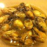 大小路バル - 牡蠣のオリーブオイル煮です。