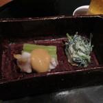 桔梗屋 - 料理写真:先付