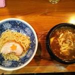 94881214 - 限定の石鍋チーズカレーつけ麺¥850