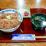 郡上炭火焼 うなぎの魚寅 - ■上丼 4212円