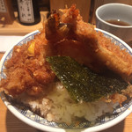 日本橋 天丼 金子半之助 - 天丼の裏側