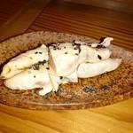 千ふく - 料理写真:比内地鶏トリュフ焼き