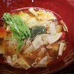 京都きん家 - 京湯葉とおぼろ豆腐のあんかけごはん(おぼろ豆腐がキレて無し)