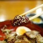 小塙 - 鶏唐揚げの甘辛煮