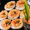 李苑 - 料理写真:チャンジャのり巻き