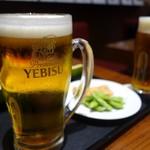 ヱビスビール記念館 - 2018夏限定メニューのビールとつまみ