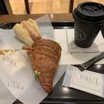 94891606 - 2018/10 川崎アソート (日替わりパンとドリンク)945円(税込)…ドリンクはカフェラテをチョイス