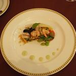 マゼランズ - シュリンプと帆立貝のマリネ