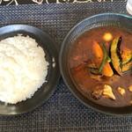 94896308 - 2018年9月 チキンto野菜カレー 1130円(税込)