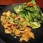 94896481 - ホルモン味噌ダレ定食(肉1.5倍)