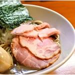 亀戸煮干中華蕎麦つきひ - 料理写真:特製濃厚蕎麦 1000円 超濃度!ニボリストにはたまらん一杯です。