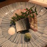 94897377 - 真鯛、縞鰺、〆秋刀魚