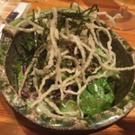 もも鐵 えん - パリパリ豆富サラダ