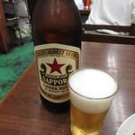 94898863 - 瓶ビール(赤星大瓶) 600円 (2018.10)