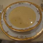 ホテル青森 - 嶽きみ入りコーンスープ