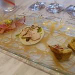 レジーナ イタリアーナ - 前菜三種盛り