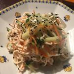 蓬溪閣 - 豆腐干絲の和え物はさっぱり塩味で箸休めにぴったりです