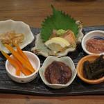 赤坂時シラズ - 酒のあて6種