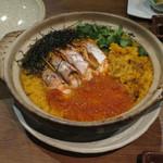 赤坂時シラズ - 雲丹と海老の濃厚釜飯