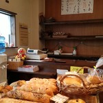 森のパン屋 - 店内の様子