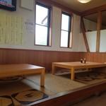 おおばやし食堂 - 小上がり席の様子