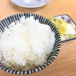 94903838 - 181017水 北海道 らーめん髙〇 ライスミニ50円