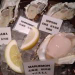 オイスター&ワイン 牡蠣屋バル - 真牡蠣(女川,石巻,仙鳳趾,マルえもん)