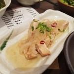 博多かわ屋 - 「ササミのタタキ~酢漬け~ (400円)」