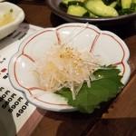 博多かわ屋 - 「梅水晶 (390円)」