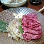 九州厨房 あらごし団 - 名物の馬刺