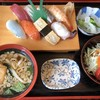 Yoshinozushi - 料理写真:○にぎり8巻定食(¥950)