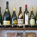 浅草カフェ ラグランドカリス - グランドカリスの店名が入ったボトルを発見!