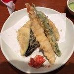 えぼし - 天ぷら盛り合わせ