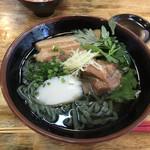 番所亭 - よもぎ麺の沖縄そば
