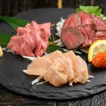 ごはん・ばー 心ろ家 - 料理写真:肉盛り合わせ