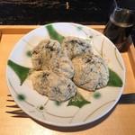 文楽 東蔵 - わらび餅です。