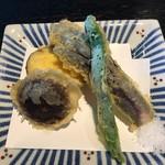 文楽 東蔵 - 天ぷらです。