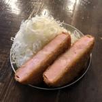 サマーパラダイス - 厚切りハムカツ 500円