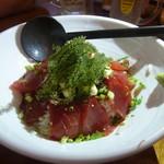 南樂 - ねこまんま海ぶどう入り海鮮丼