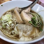 昆鰹和味庵 優味ん - チャーシューワンタン麺(醤油)