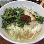昆鰹和味庵 優味ん - トムヤム柚子麺